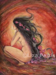 """""""Dusk"""", by Liza Paizis"""