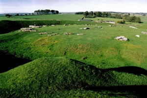 Arbor Low in the Autumn - photo by Michael Allen