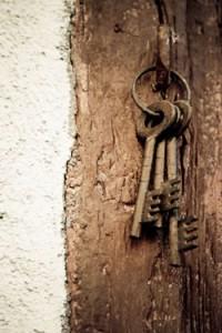 rusting keys