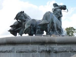 Gefjon Fountain, Kastellet, Copenhagen