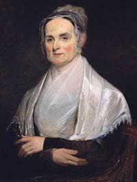 Painting of Lucretia Mott (1793-1880) - artist Joseph Kyle