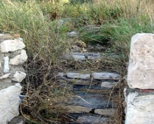 Steps leading to the Sanctuary of Nymphs