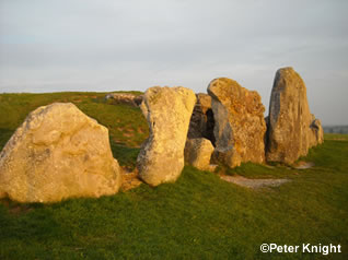 West Kennet Long Barrow - photo by Peter Knight