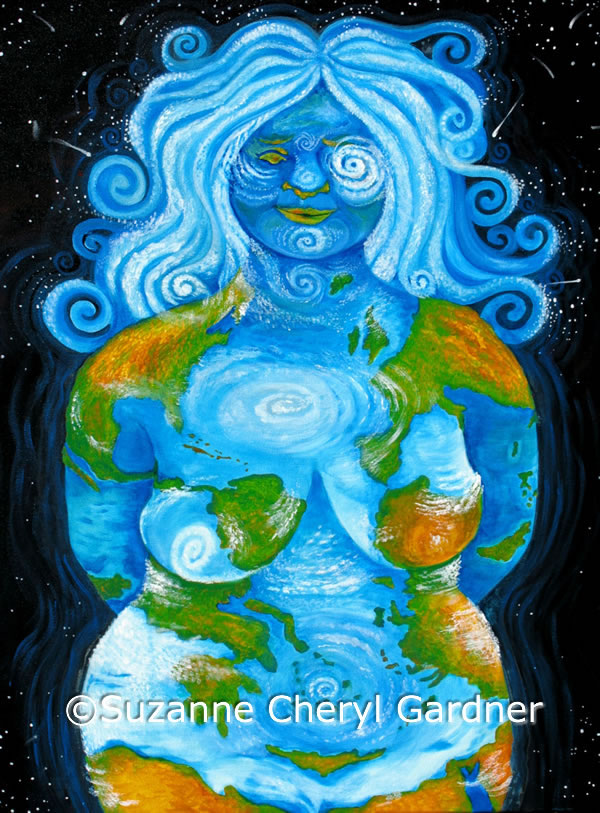 """Goddess Pages - Issue 9 """"Gaia"""", by Suzanne Cheryl Gardner"""