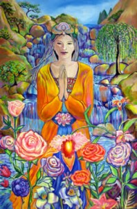 """Kwan Yin"", by Theresa Sharrar"