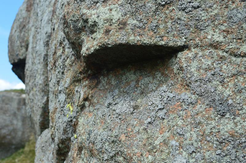 Close-up of the Devil's Burdens Eyes. Photo - Stuart McHardy