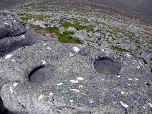 """The Lochnagar """"Eyes"""". Photo – Stuart McHardy"""