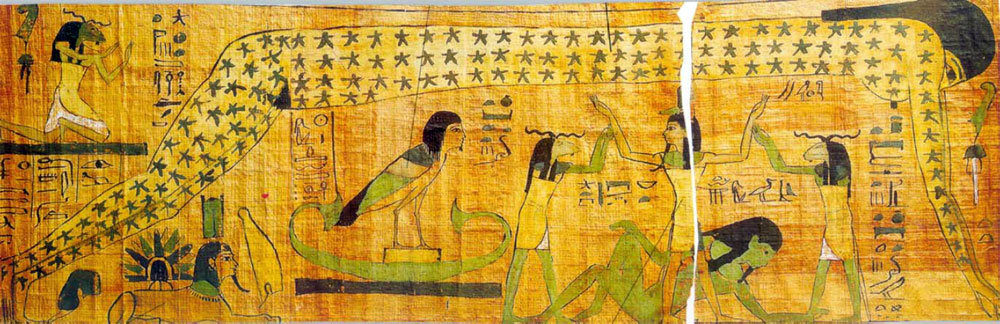 Nut The Galactic Goddess Of Ancient Egypt Goddess Pages