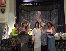 80th birthday celebration at the Goddess Conference