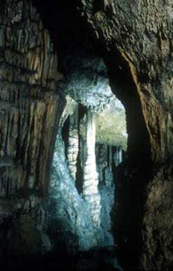 Janas cave in Sardinia