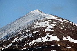 Schiehallion, the breast-shaped mountain