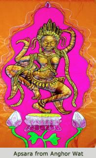 Apsara from Anghor Wat