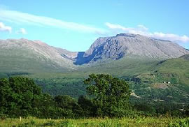 Ben Nevis, home of the Cailleach