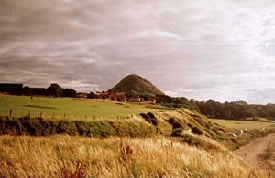 North Berwick Law, the Cailleach's pooh!