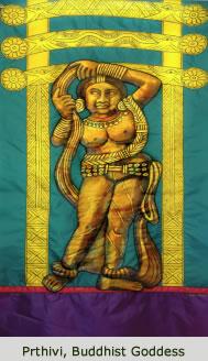 Prthivi, Buddhist Goddess