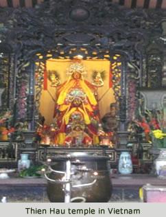 Thien Hau temple in Vietnam