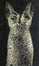 Bronze statue of Bastet