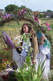 Brides Mound, Glastonbury - photo, Paul Williment, www.brighid.org.uk
