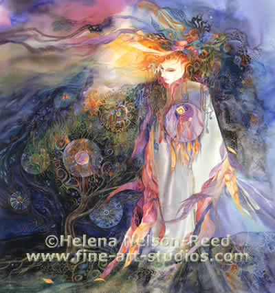 "Goddess Pages - Issue 10 ""Brighid Walks the Land"" - by Helena Nelson-Reed"