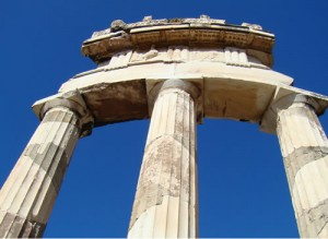 Temple of Athena Pronoia in Delphi
