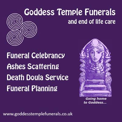 Goddess Temple Funerals
