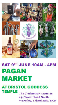Pagan Market at Bristol Goddess Temple