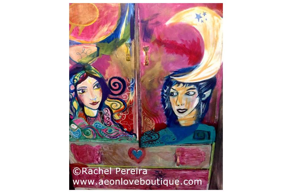 Enchanted Moon Goddess Cabinet