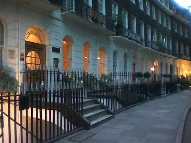 """My temporary """"digs"""" in the Bloomsbury District"""