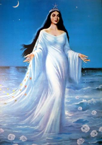 European image of the Brazilian Great Mother Yemayá