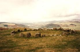 Moel-ty-Uchaf stone circle