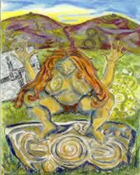 The Goddess Anu and her Paps