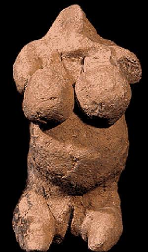 Goddess figurine from Mnajdra, Malta