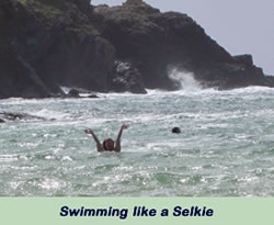 Swimming like a Selkie