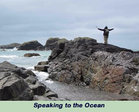 Speaking to the Ocean