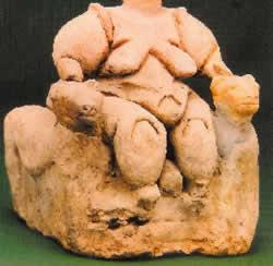 Throned Goddess