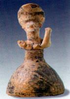 Minoan woman/Goddess figurine found at Peak Sanctuary of Petsophas