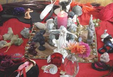 Altar to Rhiannon