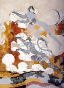 The Blue Monkeys fresco from Akrotiri