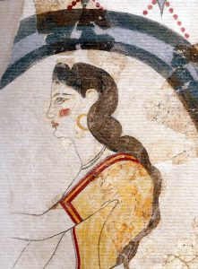 From the House of the Ladies at Akrotiri on Thera