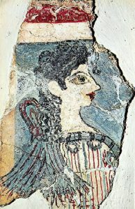 """La Parisienne"" from Knossos on Crete"